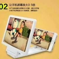 Kaca Alat Pembesar Layar Hp Smartphone 3d Screen