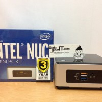 Mini PC INTEL NUC (NUC5CPYH) Processor INTEL CELERON Dual-Core (RESMI)