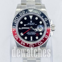 Jam Tangan Rolex GMT Master II 116719BLRO Black Red (Cola)