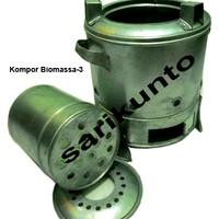 Tungku KOmpor Biomassa (Briket)