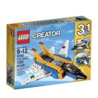 LEGO Creator 3in1 - 31042 Super Soarer Set Airplane Wing Jet Model Toy