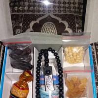 Paket oleh oleh haji dan umroh isi 6 kombinasi coklat turkey