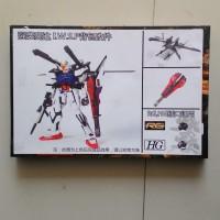 Bacpack Gundam Strike IWSP RG HG 1/144 and Weapon Gatling Gun Shield