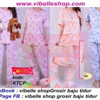 KTCPxx - Vibelle shop grosir baju tidur kancing katun piyama baby doll
