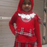 Baju Muslim | Baju Gamis Anak Perempuan, Cewek Umur 5, 6 Tahun