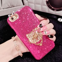 PREMIUM Hello kitty bling ring case for samsung galaxy note 5