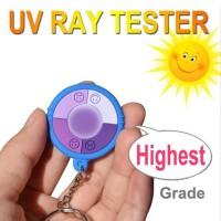 UV Index Tester - UltraViolet Intensity Test KeyChain