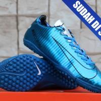 harga Sepatu Futsal Nike Mercurial Superfly Gerigi Biru Metalik Grade Ori Tokopedia.com