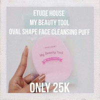 Etude House My Beauty Tool Oval Shape Face Cleansing Puff