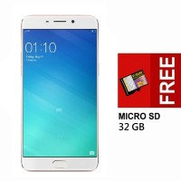 Oppo F1 Plus Smartphone [16MP / RAM 4GB / 64GB] + Micro SD 32 GB