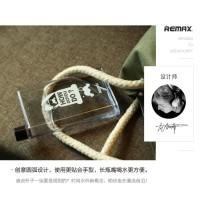 harga Remax A5 Letter Bottle 420ml - RCUP-N420 Botol Minum Memo Transparent Tokopedia.com