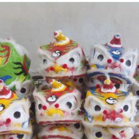 TOPENG KEPALA BARONGSAI MINI / BARONGSAI