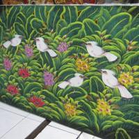 harga Lukisan Burung Jalak Bali - Uk. 135 x 85 cm - (Harga Ekonomis) Tokopedia.com