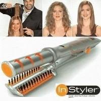 Harga best seller instyler 2 in 1 catok rambut catokan pelurus | Pembandingharga.com