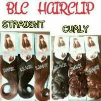 HAIR CLIP BIG LAYER CURLY / LURUS