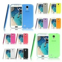 Case cover/Ultra thin/Hardcase Transparan Untuk Samsung Galaxy S4