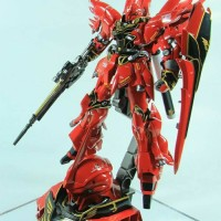 Gundam Gunpla HG 1/144 Sinanju + Head Display Base / High Grade