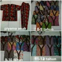 Piyama Batik Anak Usia 6-10 Th