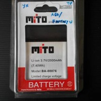 Baterai Original Mito A60/Fantasy U (BA-00076)