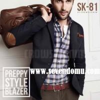 Jas Pria Preppy Elbow Style New SK 81