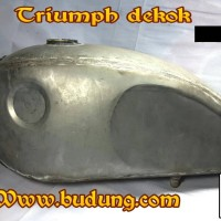 tanki custom bobber triump dekok