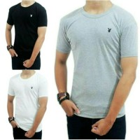 T-Shirt Playboy O-Neck | Kaos Oblong Lengan Pendek