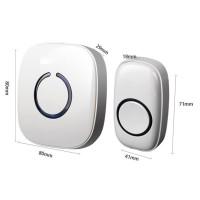 harga Door Bell FX-C Wireless Waterproof  /  Bel Pintu Rumah Anti Air Tokopedia.com