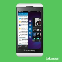 Blackberry Z10 Putih Garansi 1 Tahun (THE ONE)