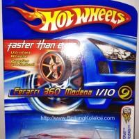 harga Hotwheels FERRARI FTE 360 MODENA Tokopedia.com