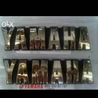 EMBLEM YAMAHA RX KING COBRA MADE IN JAPAN ORIGINAL