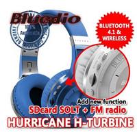 Jual Headphone Bluetooth Bluedio H+ Turbine bisa u Telepon+SDcard+Radio FM Murah