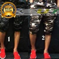 Celana Pendek Jogger Army Loreng Jogger Pants Pendek