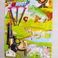 Shooting Game Set isi 7 / Permainan Menembak & Berburu / Pistol Mainan