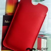 Leather case pouch Xiaomi Redmi NOTE 3 ( Ragam Sarung HP 4,5,6 inch)