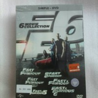 Dvd Movie Collection - Fast Furious 1-6 / Original & Segel