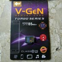 Jual VGEN 64GB Turbo Series Class 10 Speed 85MB/s MicroSD Memory Card Murah