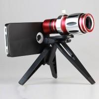 Harga lensa telephone lens kit 12 5x zoom magnifier for iphone   Hargalu.com