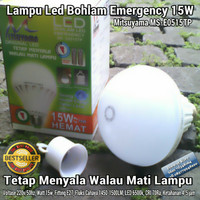 Bohlam Emergency - Lampu Emergency Mitsuyama 15W - Lampu LED Emergency