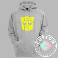 Hoodie Transformers Bumble Bee Sablon Bludru