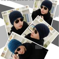 topi kupluk untuk winter / musim dingin