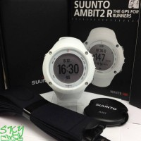 Jam tangan Suunto Ambit2 R White with HR Original