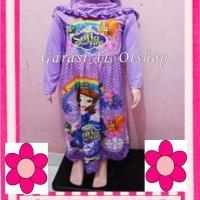 *Baju Muslim Anak perempuan Gamis Karakter PRINCESS SOFIA 5-11th*
