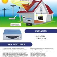 harga PAKET PLTS HYBRID LUMINOUS 1400VA, SP 1000WP, BATT 200AH 24v Tokopedia.com