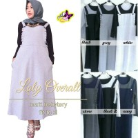 Supplier Hijab : Lolly overall by alijaya