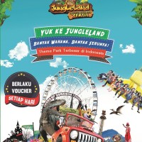 booklet voucher Jungle land sentul city