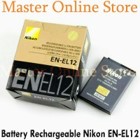 harga Battery Batterai Batteray Camera Kamera Digital Nikon Coolpix EN-EL12 Tokopedia.com