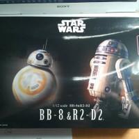 Bandai Starwars Scale Kits 1/12 BB-8 & R2D2