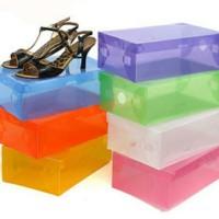 Jual DIY Kotak / Box Sepatu Plastik Tebal Promo Murah