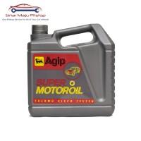 Agip Super Motoroil SAE 20W-50 Oli Mobil Bensin 4 Liter Original