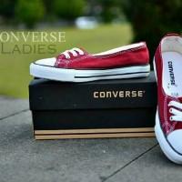 promo!! Sepatu casual Converse Ladies red